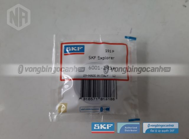 Vòng bi SKF 6001-2RSH
