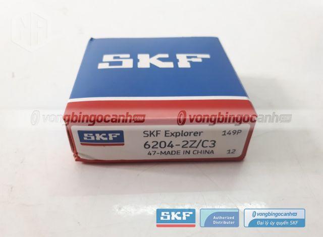 Vòng bi SKF 6204-2Z/C3