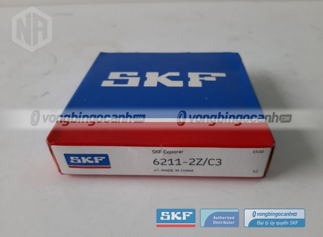 Vòng bi SKF 6211-2Z/C3