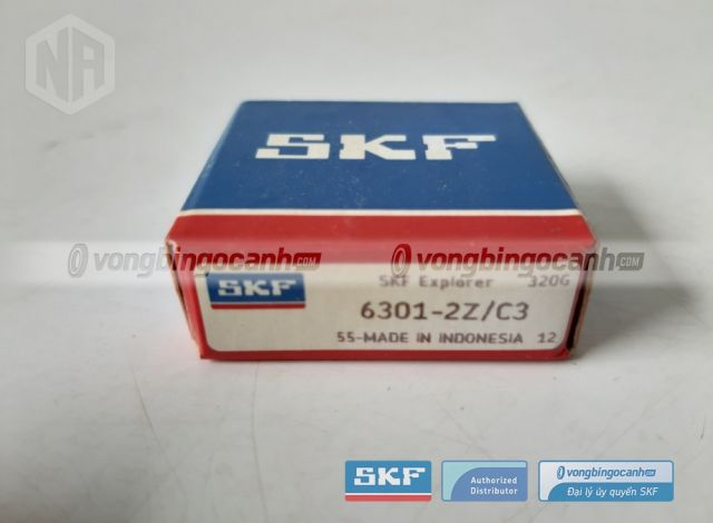 Vòng bi 6301-2Z/C3 skf