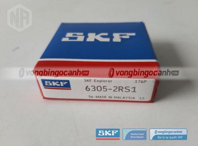 Vòng bi 6305-2RS1 skf