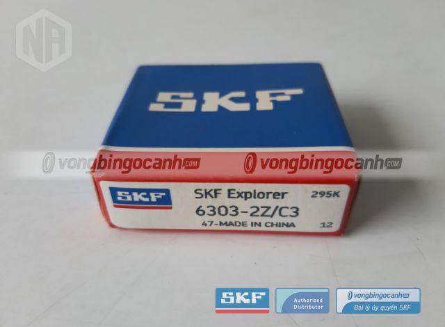 Vòng bi 6303-2Z/C3 skf