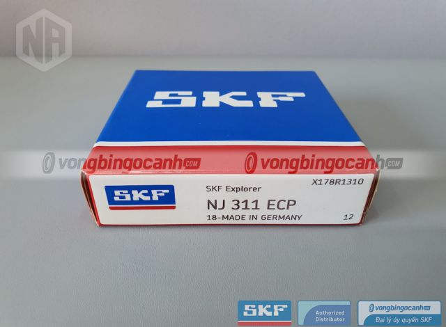 Vòng bi NJ 311 ECP chính hãng SKF