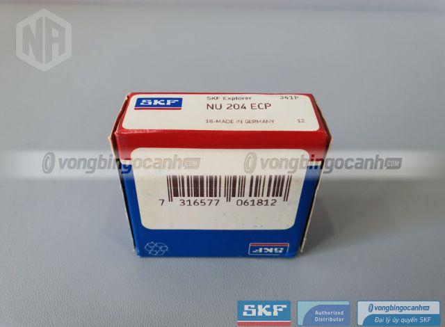 Vòng bi NU 204 ECP chính hãng SKF