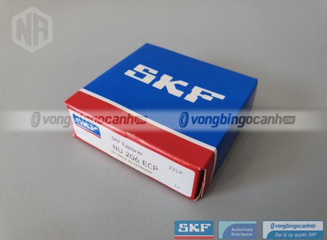 Vòng bi NU 206 ECP chính hãng SKF