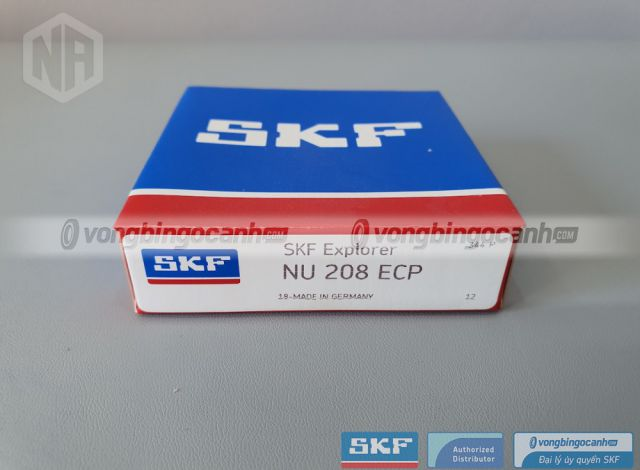 Vòng bi NU 208 ECP chính hãng SKF