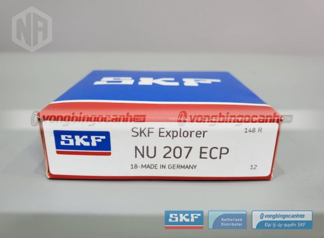 Vòng bi NU 207 ECP chính hãng SKF