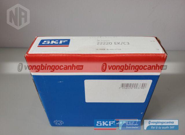 Vòng bi SKF 22220 EK/C3 chính hãngvòng bi tang trống skf, vòng bi tang trống 22220, bạc đạn 22220, vòng bi skf 22220, bearing 22220, Spherical roller