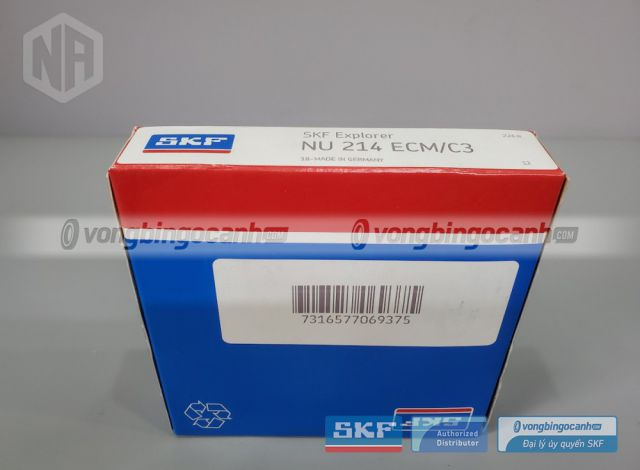 Vòng bi NU 214 ECM/C3 chính hãng SKF