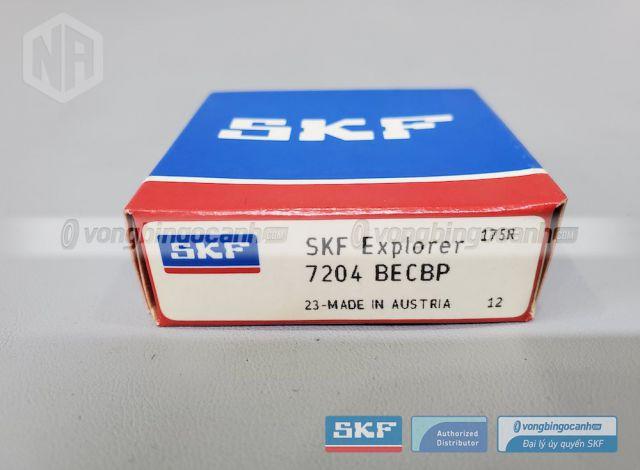 Vòng bi SKF 7204 BECBP chính hãng