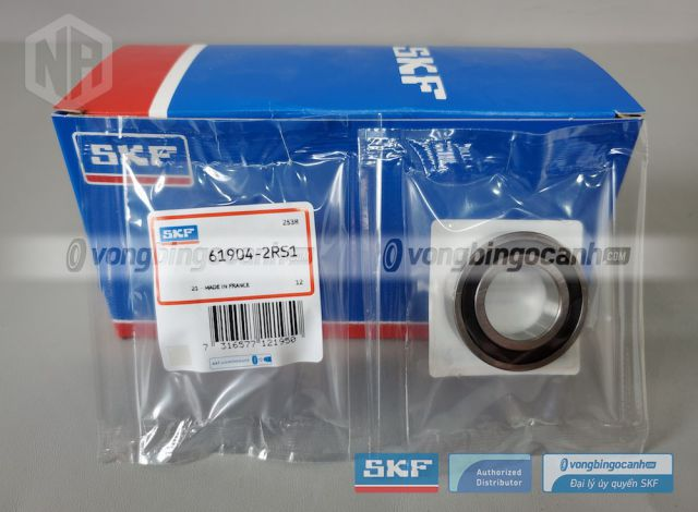 Vòng bi 61904-2RS1 chính hãng SKF