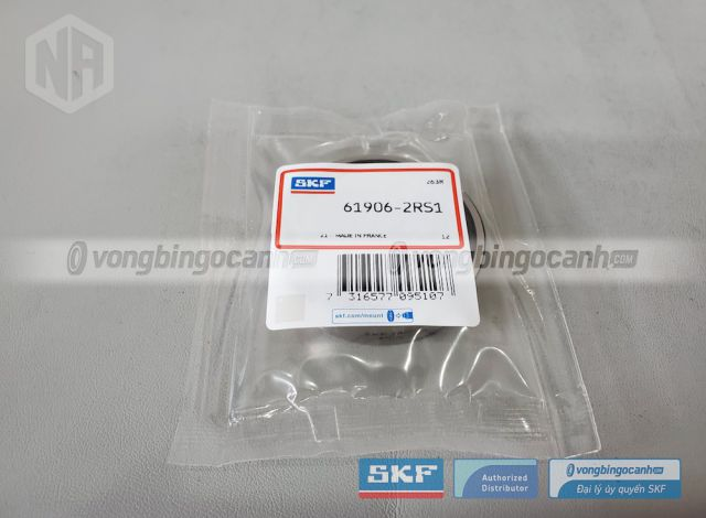 Vòng bi 61906-2RS1 chính hãng SKF