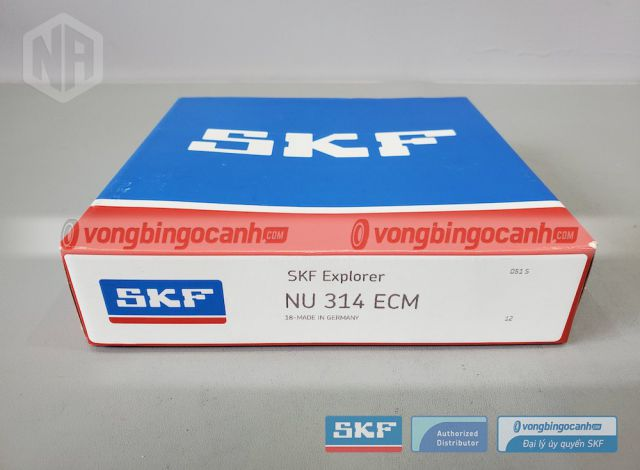 Vòng bi NU 314 ECM chính hãng SKF
