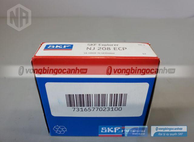 Vòng bi SKF NJ 208 ECP chính hãng