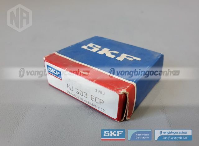 Vòng bi SKF NJ 303 ECP chính hãng