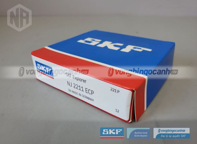 Vòng bi SKF NJ 2211 ECP chính hãng