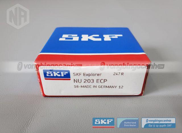 Vòng bi SKF NU 203 ECP chính hãng