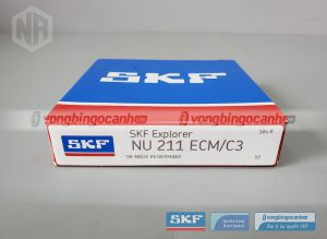 Vòng bi NU 211 ECM/C3 SKF chính hãng