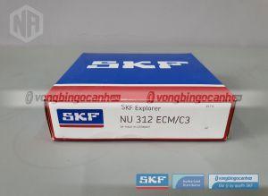 Vòng bi NU 312 ECM/C3 SKF chính hãng