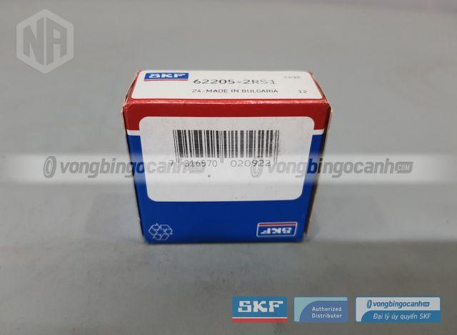 Vòng bi cầu SKF 62205-2RS1 chính hãng