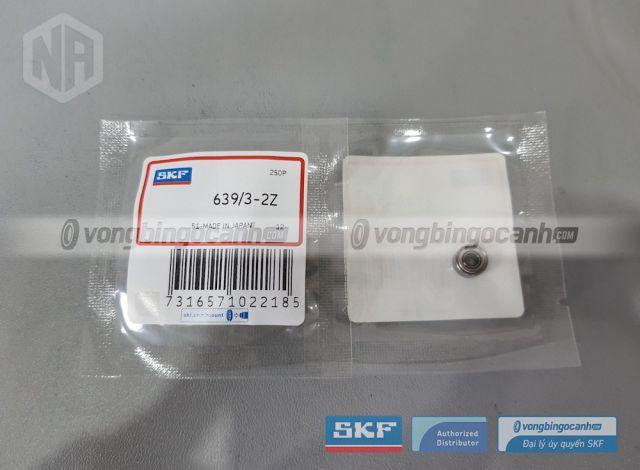 Vòng bi cầu SKF 639/3-2Z chính hãng