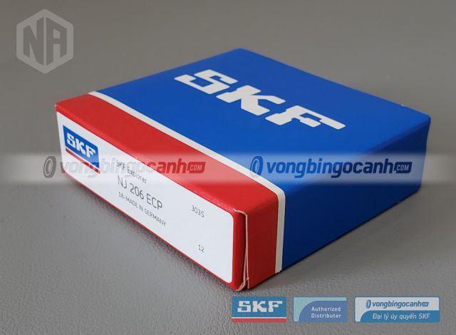 Vòng bi SKF NJ 206 ECP chính hãng