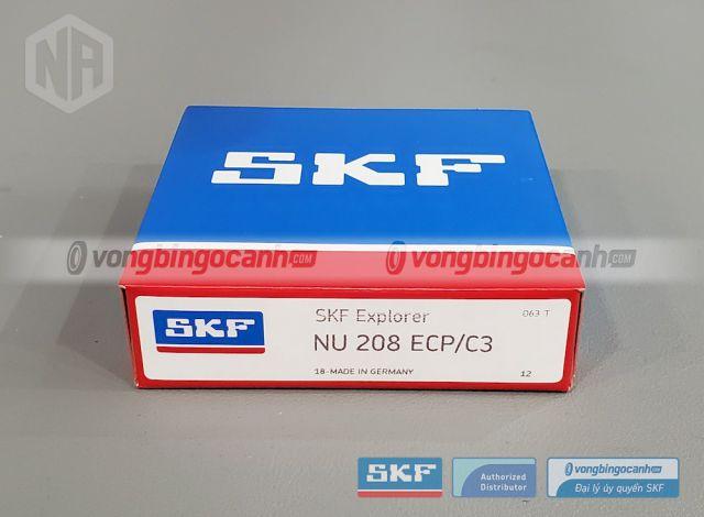 Vòng bi SKF NU 208 ECP/C3 chính hãng