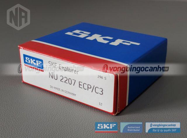 Vòng bi SKF NU 2207 ECP/C3 chính hãng